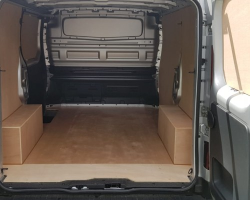 Vauxhall Vivaro Double Cab/ Crew Cab - Plyline Kit 2014 Onwards